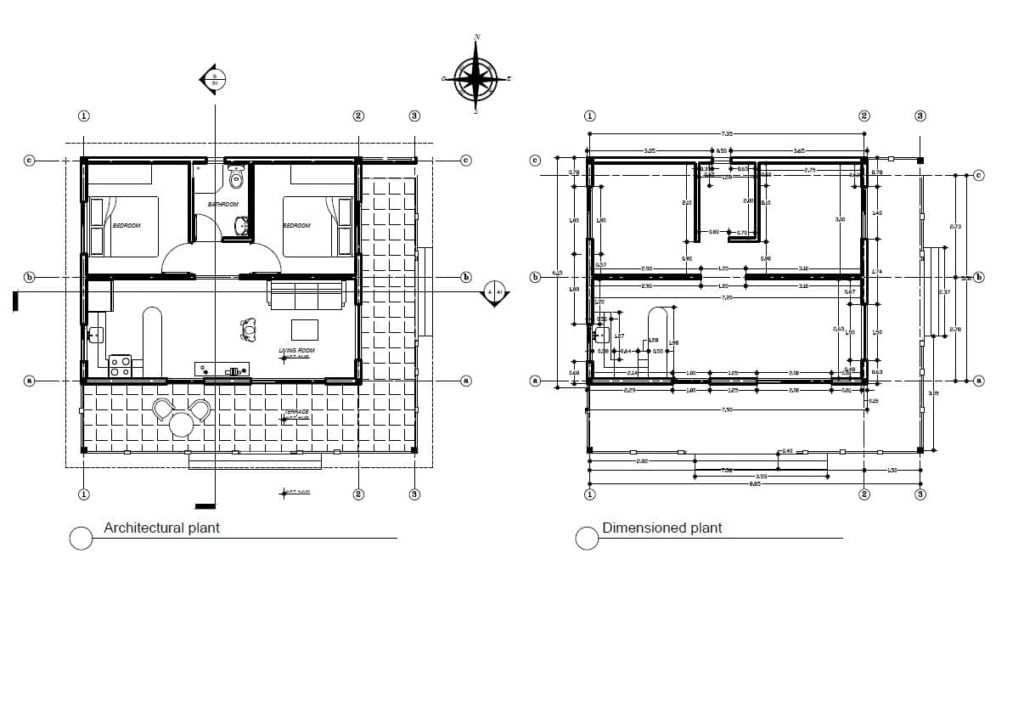 small bungalow house plans free pdf download