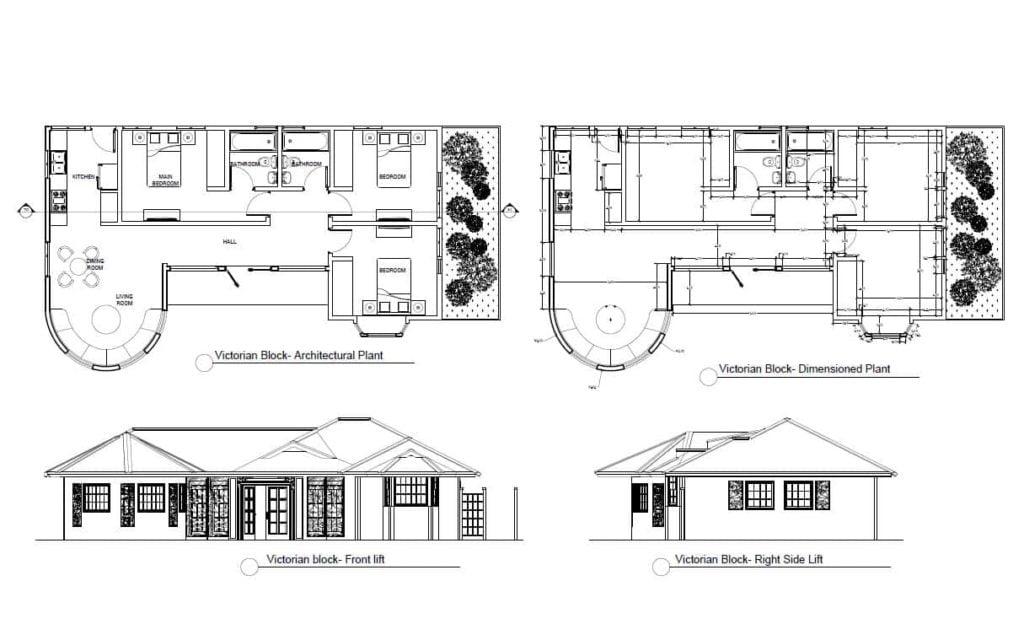 Free pdf file small house plans for download