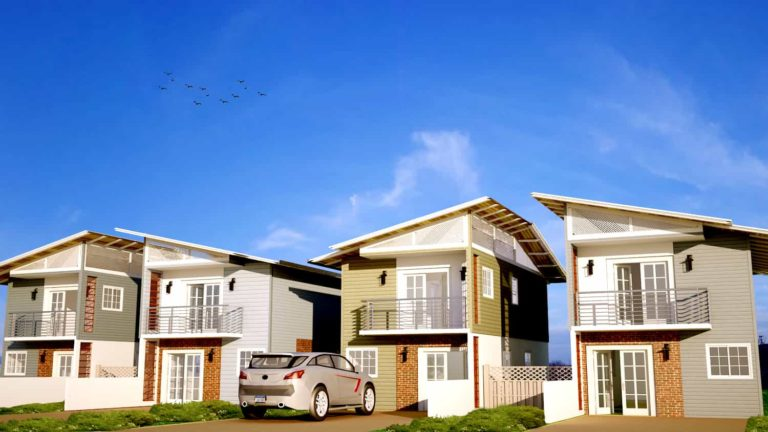 Small Two-storey Townhouse Plan 0209202