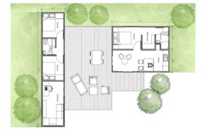 Shipping Container house plans, pdf free download, three container use