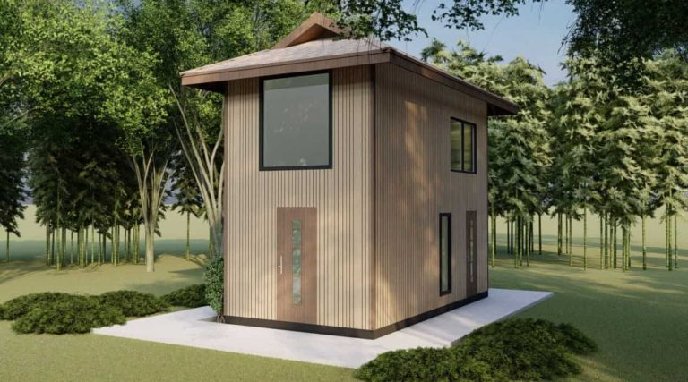 free tiny house with loft under 500 sq ft