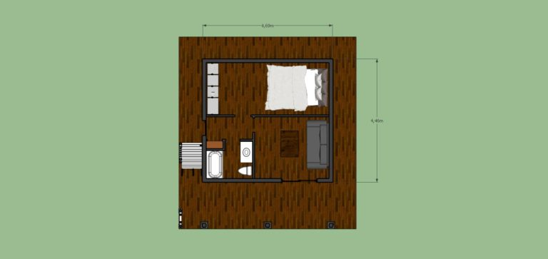 Tiny House 446 sq ft-Ground floor free download